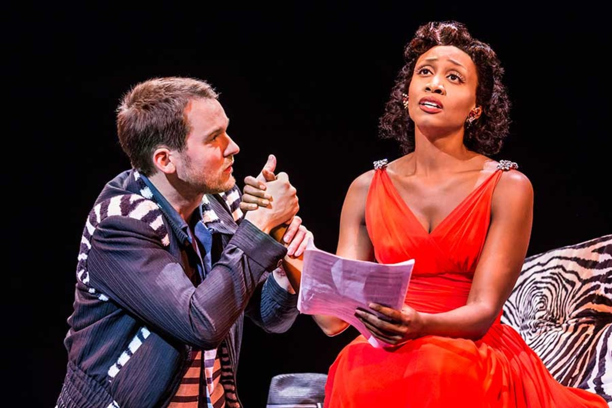 Killian Donnelly and Beverley Knight star in Memphis, playing at the Shaftesbury Theatre (Photo: Johan Persson)