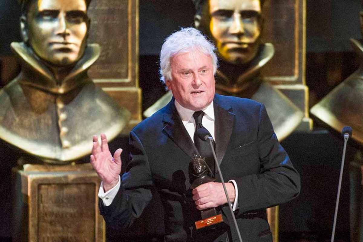 Richard Eyre at the 2014 Olivier Awards with MasterCard (Photo: Alastair Muir)