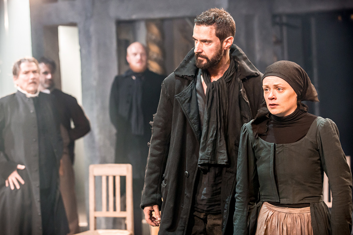 Richard Armitage and Natalie Gavin star in The Crucible, playing at the Old Vic (Photo: Johan Persson)