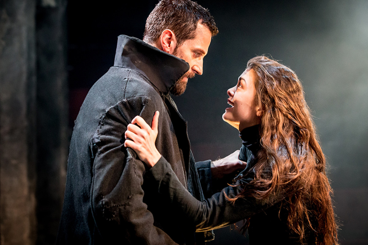 Richard Armitage and Samantha Colley star in The Crucible, playing at the Old Vic (Photo: Johan Persson)