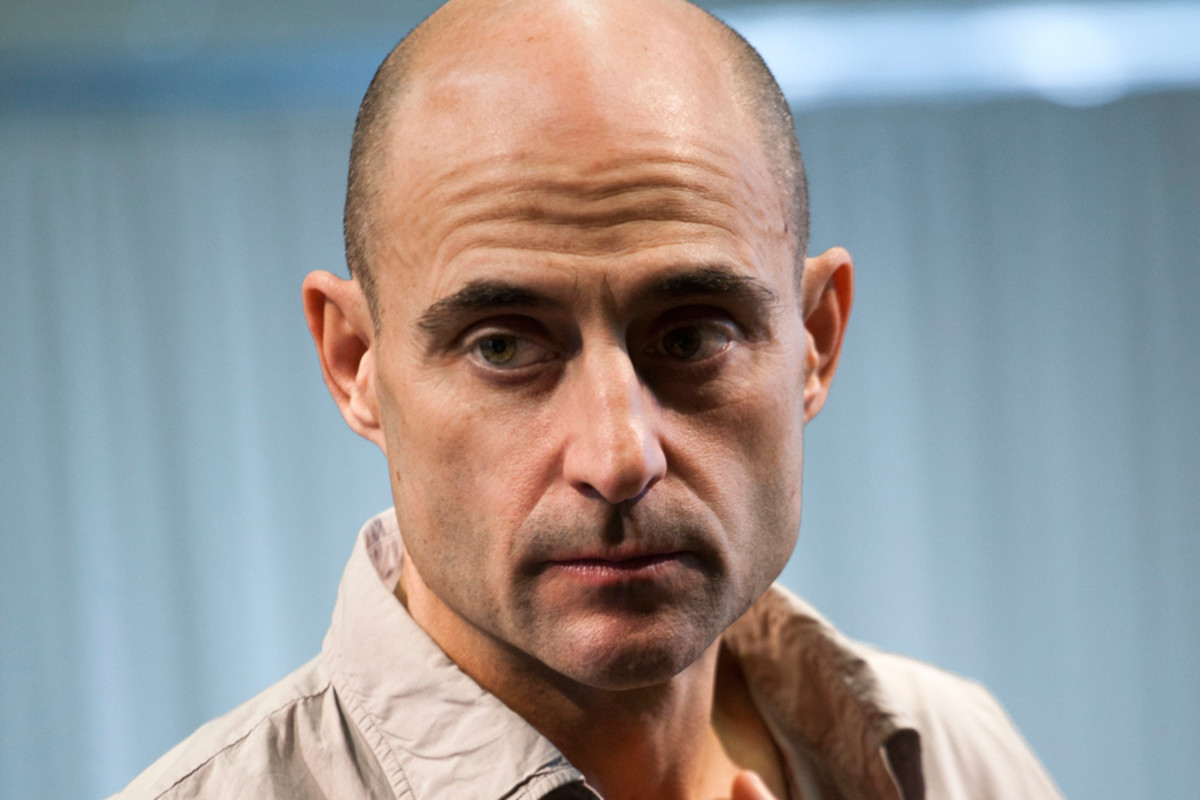 Mark Strong in rehearsals for A View From The Bridge (Photo: Simon Annand)
