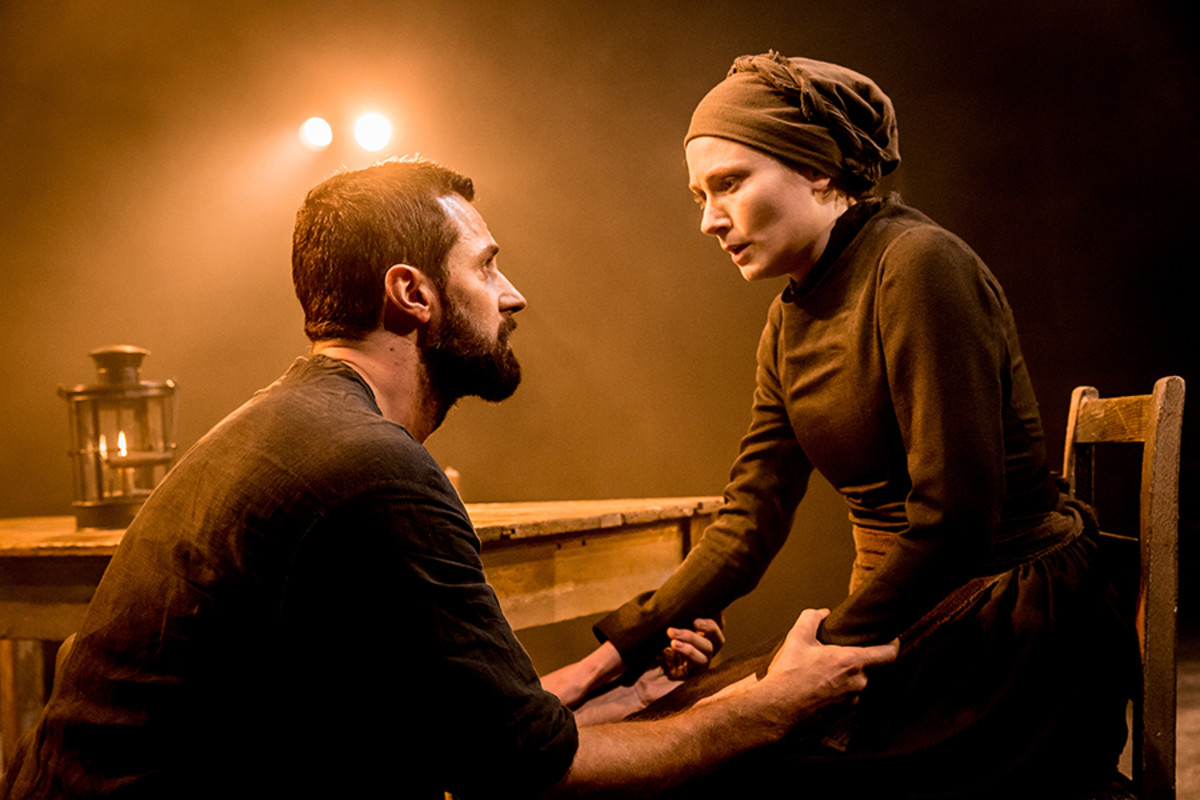 Richard Armitage and Anna Madeley star in The Crucible, playing at the Old Vic (Photo: Johan Persson)