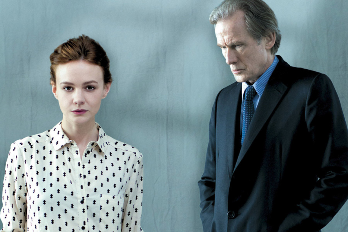 Skylight stars Carey Mulligan and Bill Nighy (Photo: Benjamin McMahon)