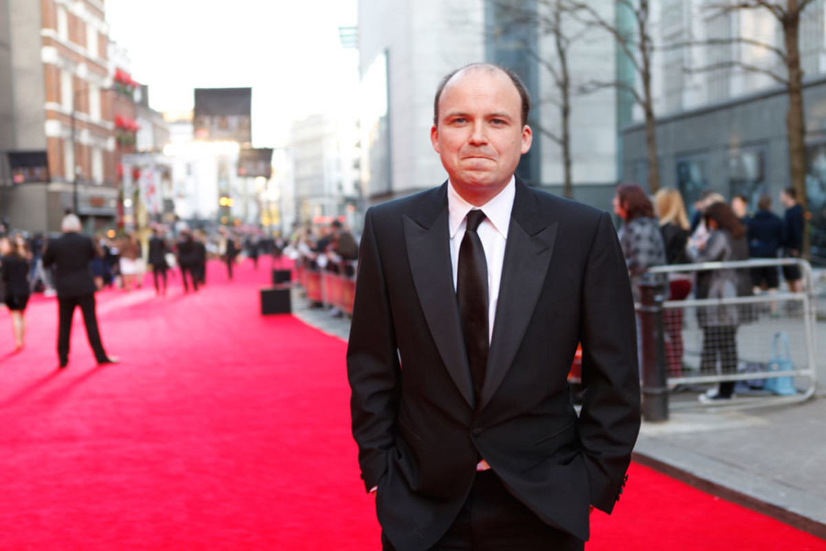 Best Actor Rory Kinnear walks the red carpet at the Olivier Awards 2014 with MasterCard (Photo: Pamela Raith)
