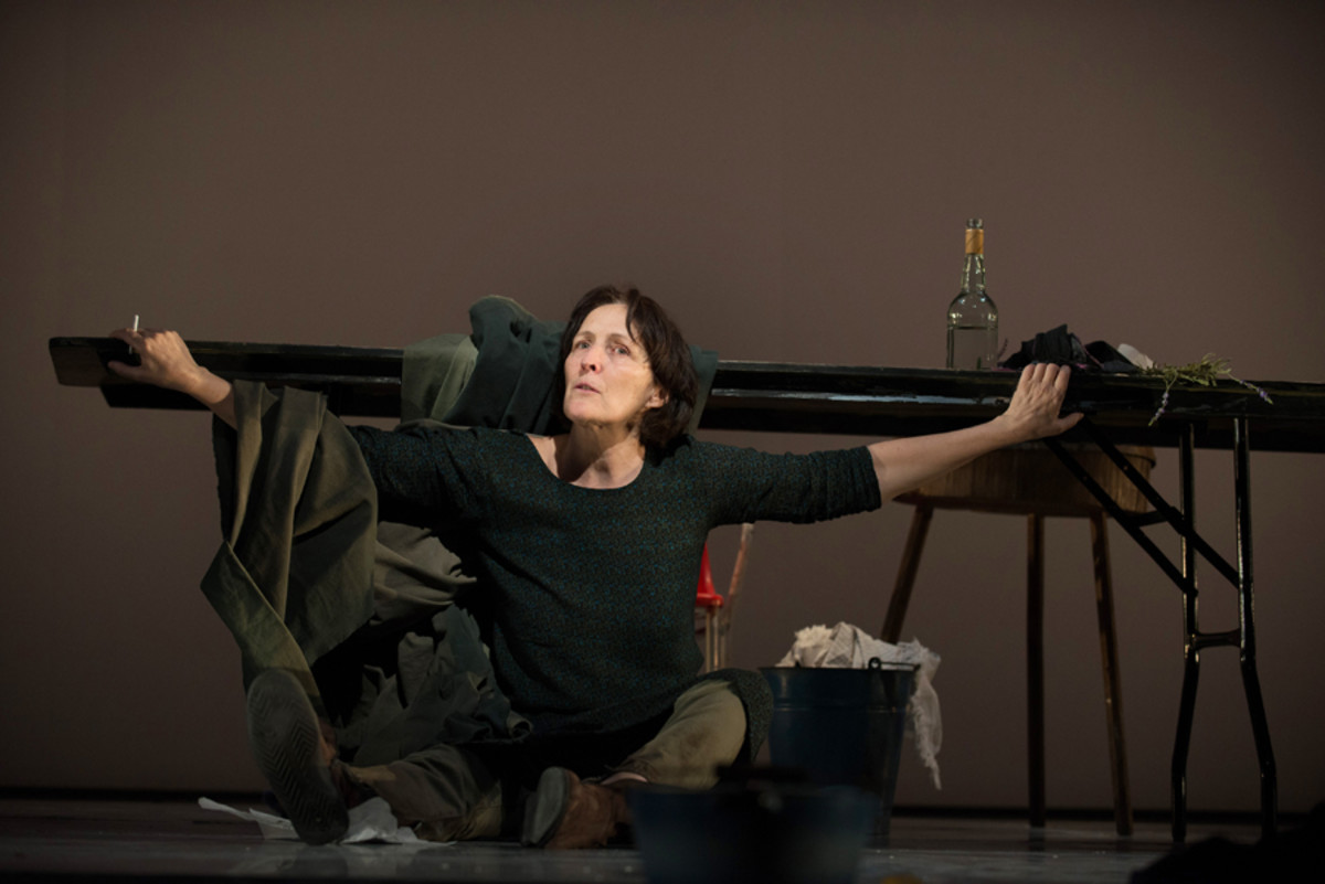 Fiona Shaw stars in The Testament Of Mary at the Barbican