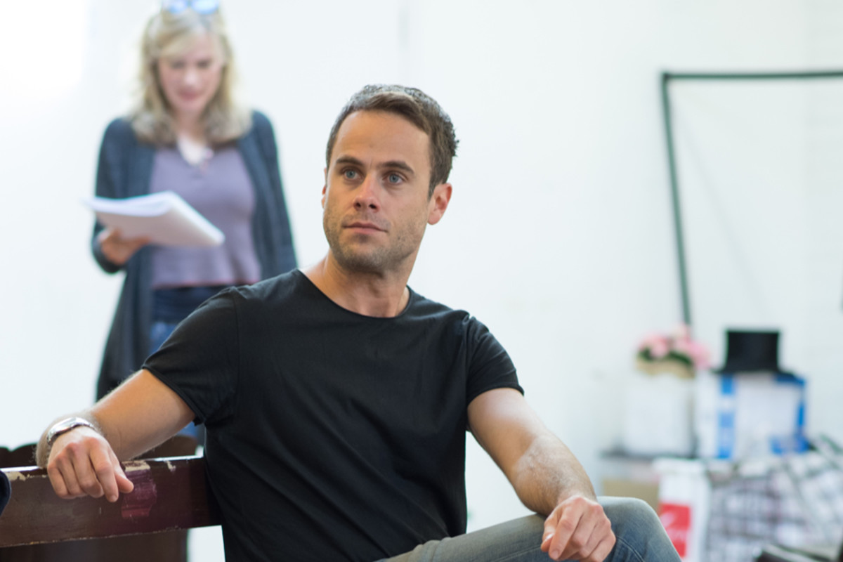 Jay Taylor in rehearsal for Accolade at the St James Theatre (Photo: Ben Broomfield)