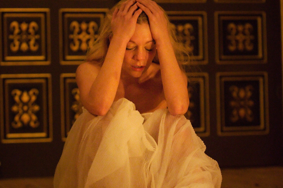 Fiona Button in 'Tis Pity She's A Whore at the Sam Wanamaker Playhouse (Photo: Simon Kane)