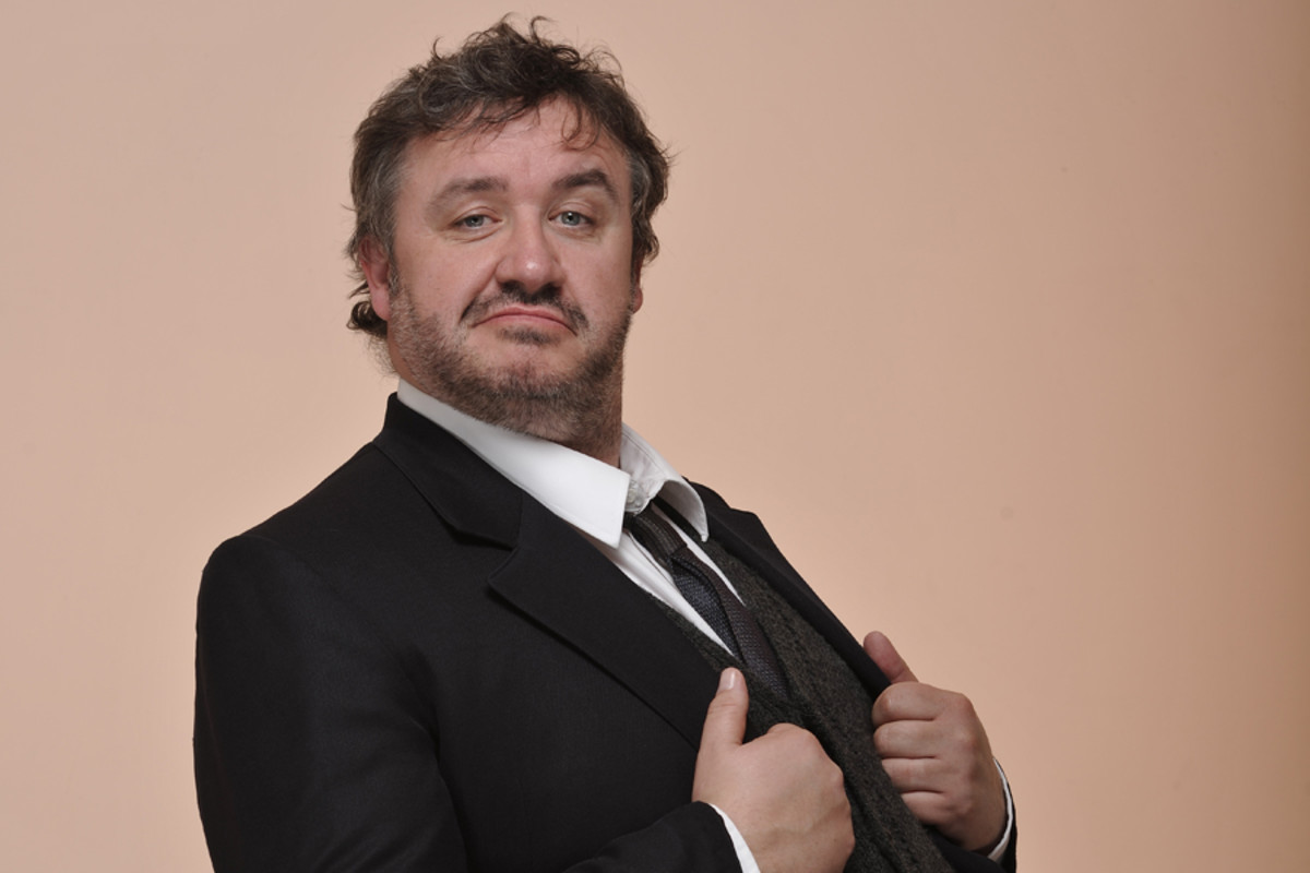 Hobson's Choice's Mark Benton (Photo:  Hugo Glendinning)