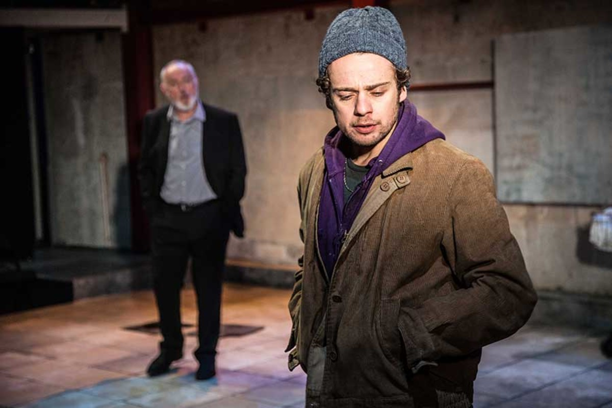 Peter Egan & Alex Waldmann in Jonah And Otto, playing at the Park Theatre (Photo: Jack Sain)