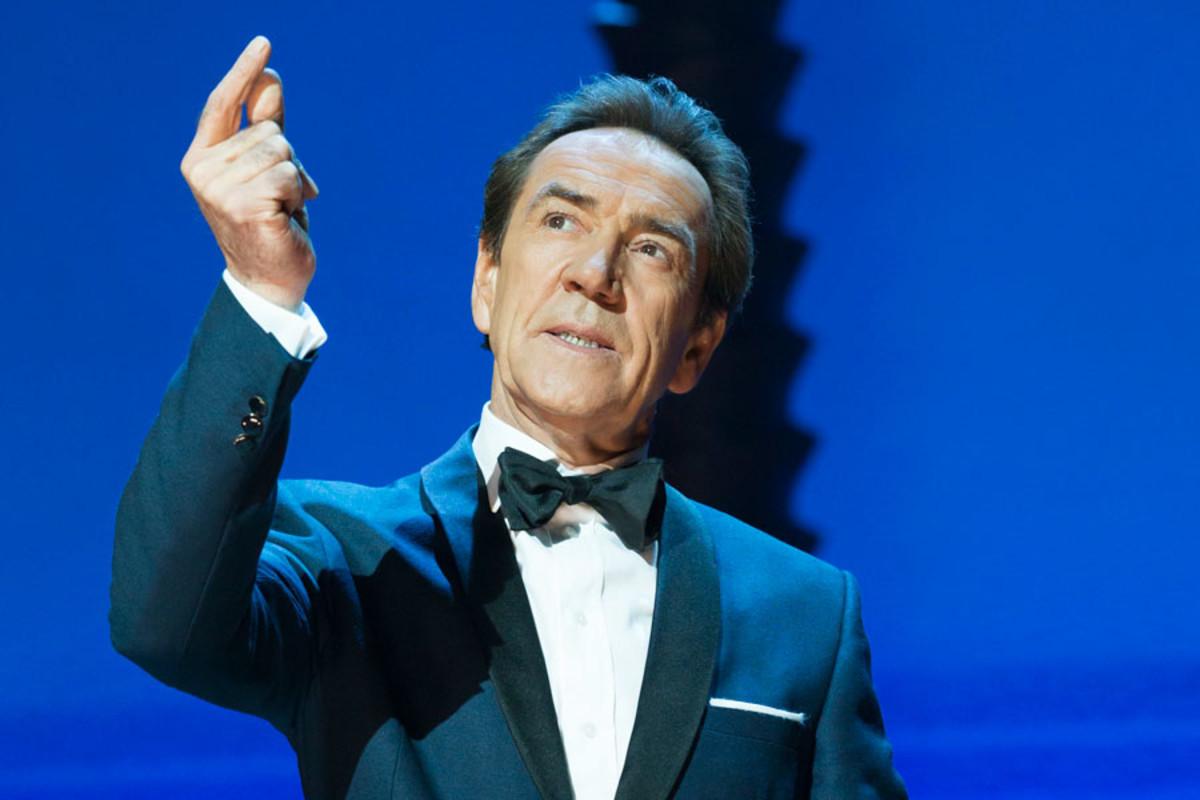 Robert Lindsay in Dirty Rotten Scoundrels, playing at the Savoy theatre (Photo: Johan Persson)