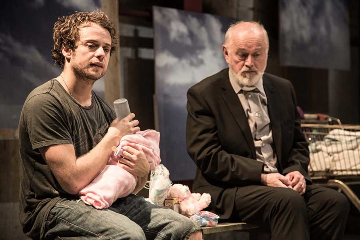 Alex Waldmann & Peter Egan in Jonah And Otto, playing at the Park Theatre (Photo: Jack Sain)
