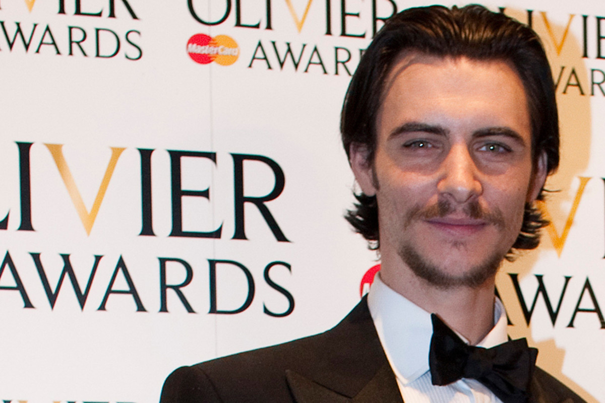 Harry Lloyd at the 2012 Olivier Awards with MasterCard (Photo: Helen Maybanks)