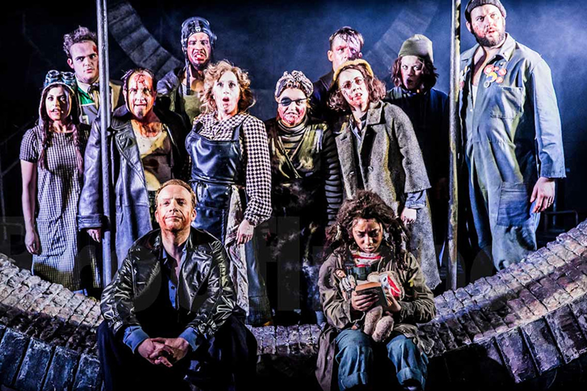 The cast of Urinetown The Musical (Photo: Johan Persson)
