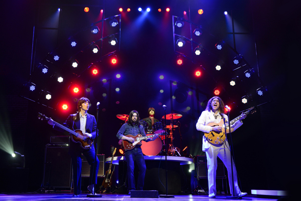 Emanuele Angeletti, Stephen Hill, Luke Roberts and Reuven Gershon in Let It Be
