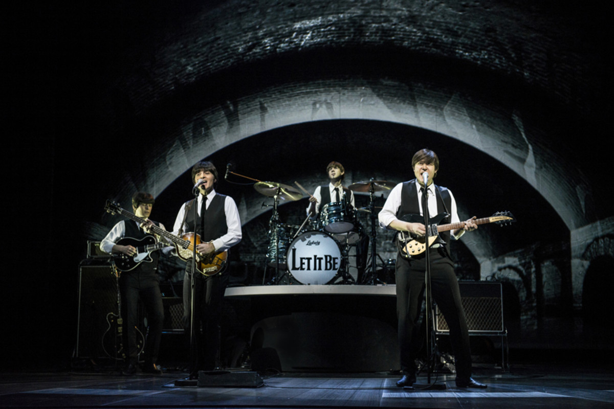 Stephen Hill, Emanuele Angeletti,  Luke Roberts and Reuven Gershon in Let It Be