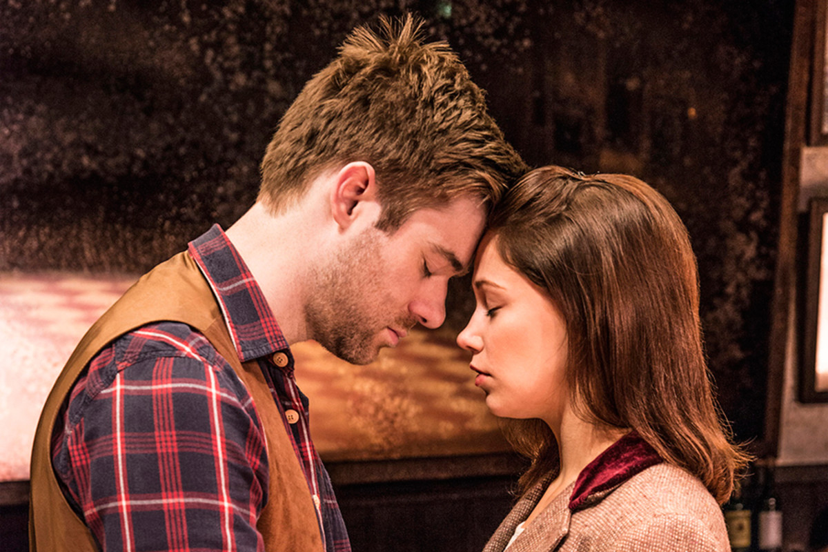 David Hunter and Jill Winternitz star in Once (Photo: Matt Crockett)