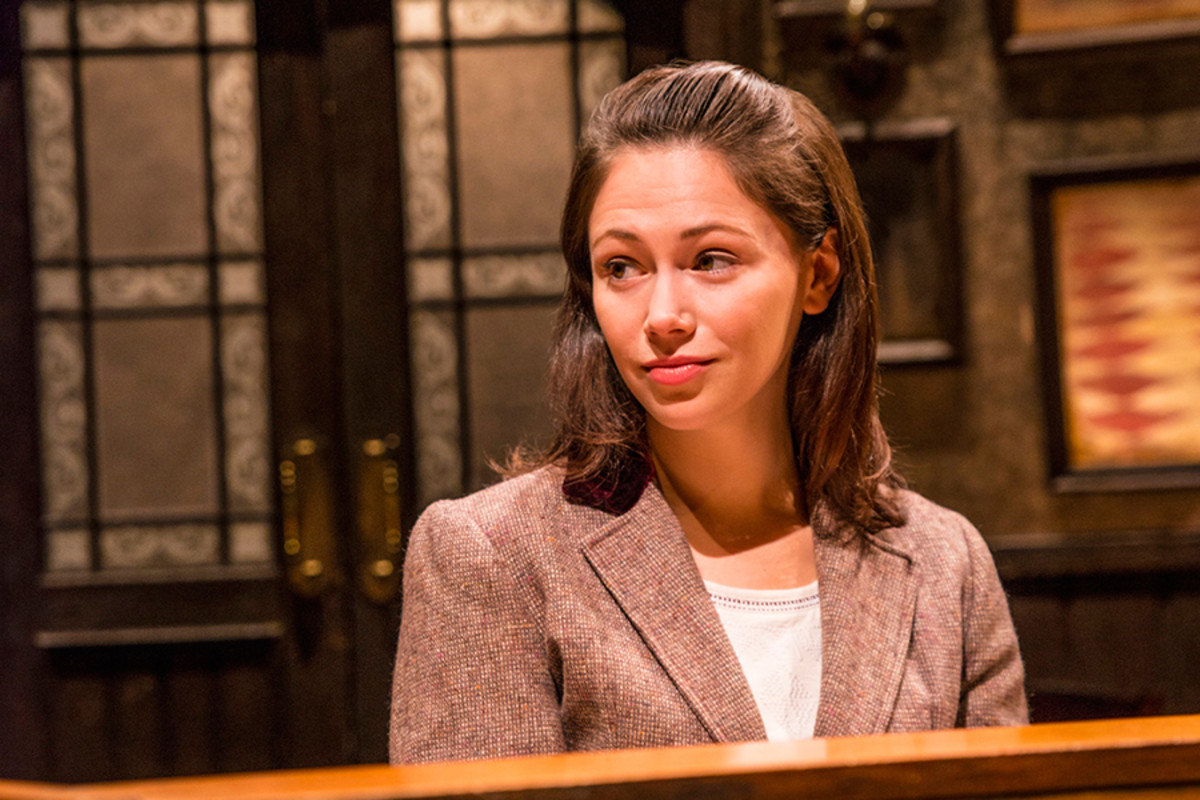 Jill Winternitz stars in Once (Photo: Matt Crockett)