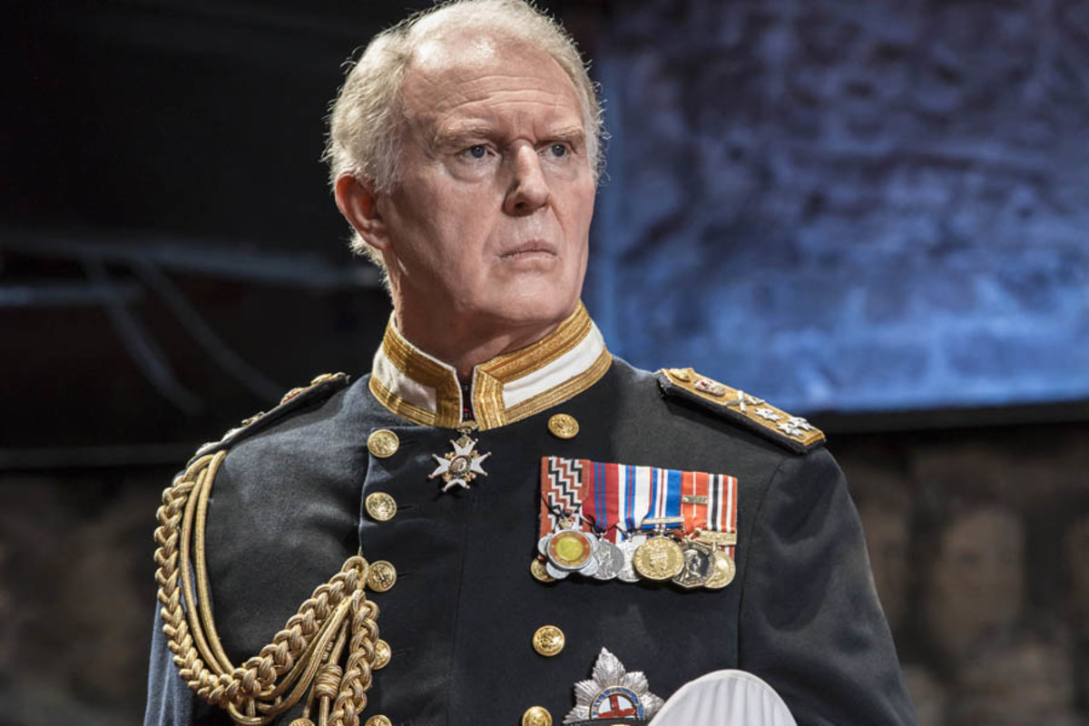 Tim Pigott-Smith in King Charles III (Photo: Johan Persson)