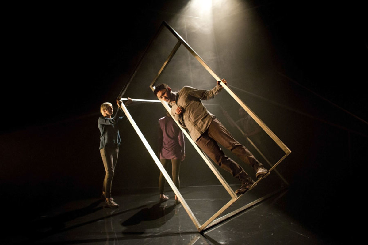 Eileen Walsh and Richard Mylan in Frantic Assembly's The Believers at the Tricycle Theatre (Photo: Helen Maybanks)