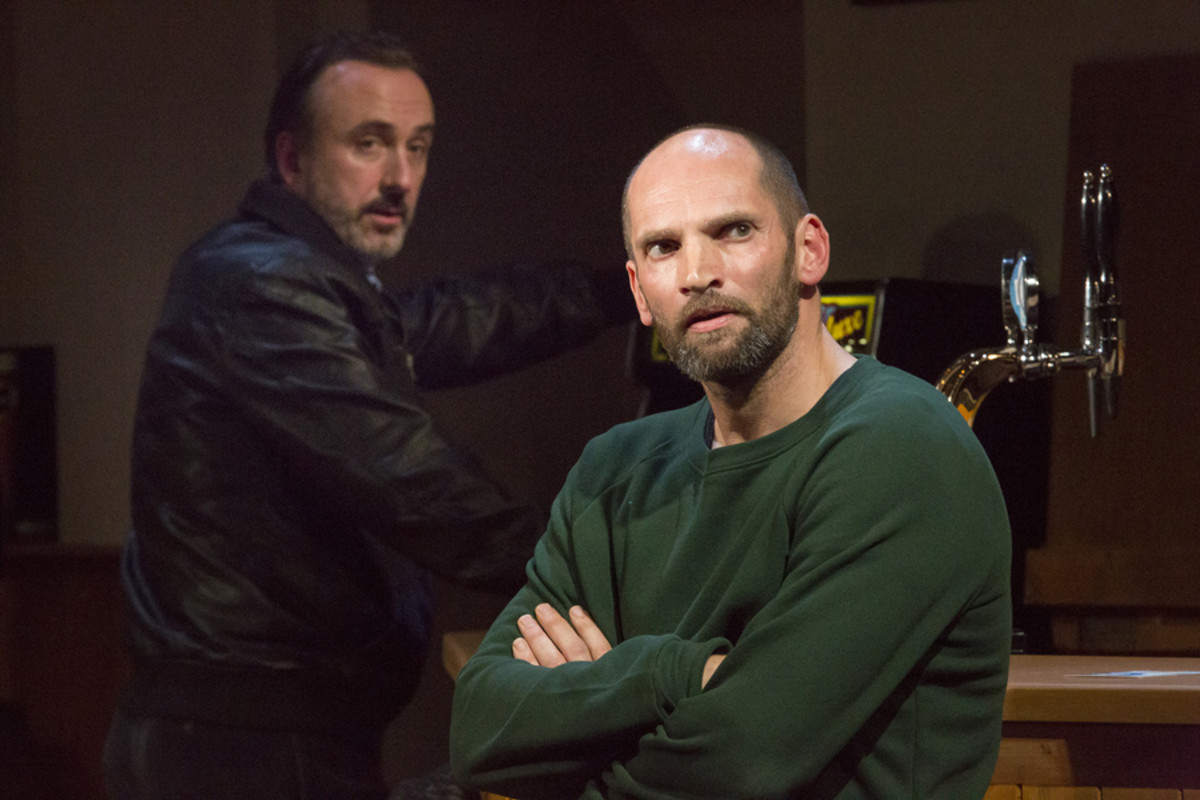 Declan Conlon and Patrick O'Kane in Quietly (Photo: Anthony Woods)