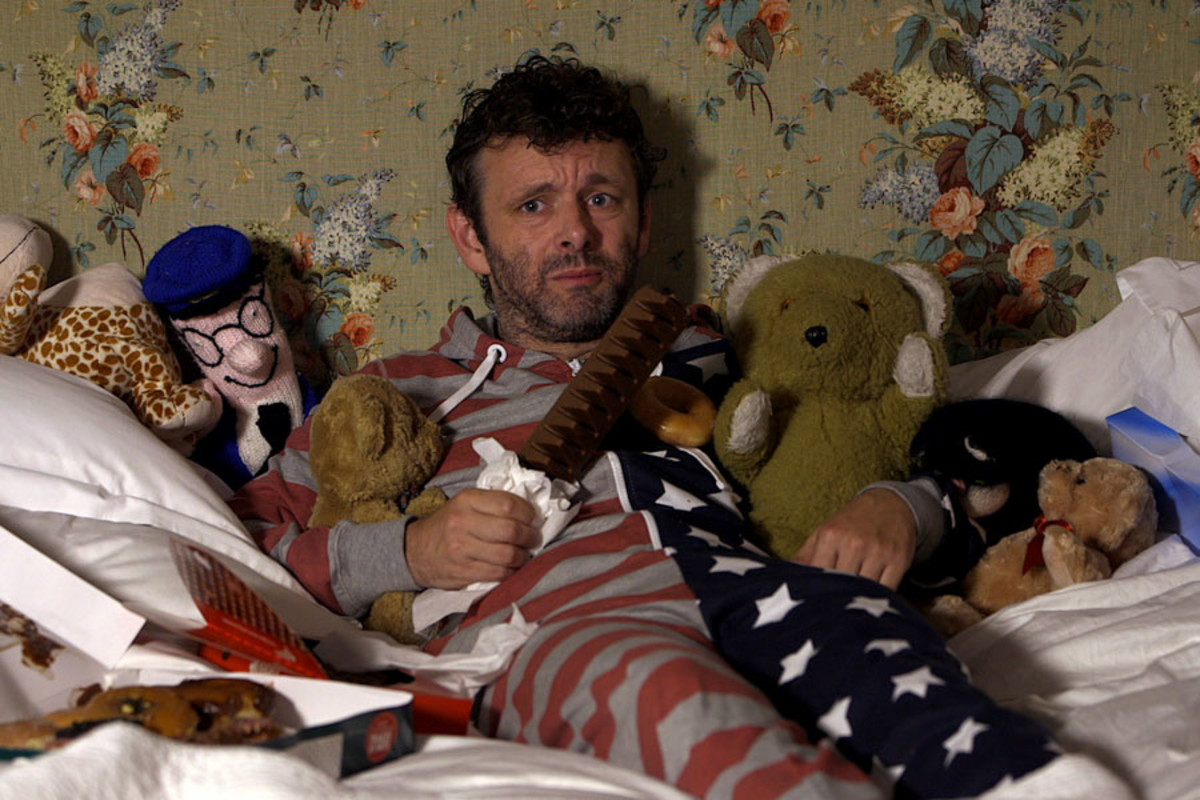 Michael Sheen in the trailer for the 2013 Old Vic 24 Hour Plays Celebrity Gala