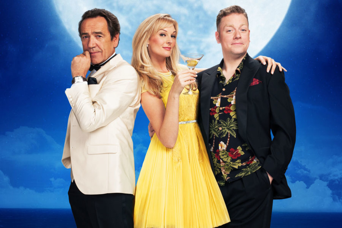 Robert Lindsay, Katherine Kingsley and Rufus Hound will star in Dirty Rotten Scoundrels