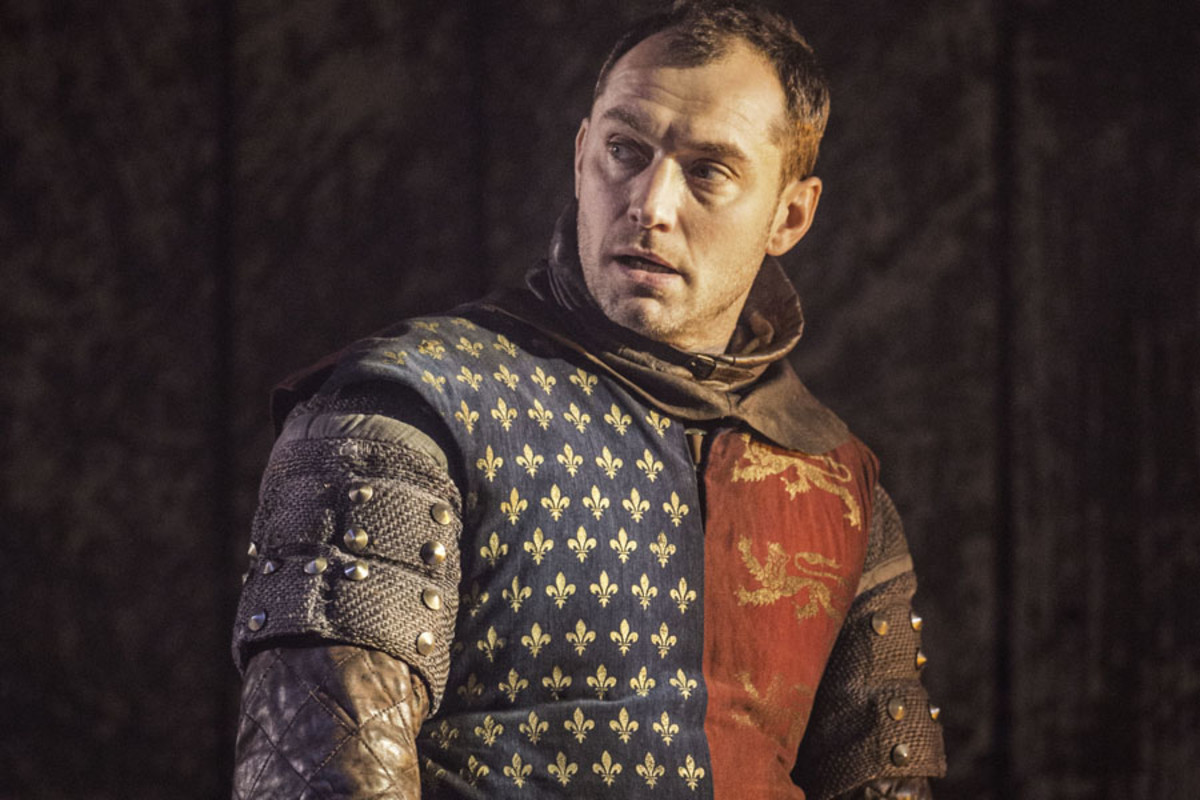 Jude Law in Henry V (Photo: Johan Persson)