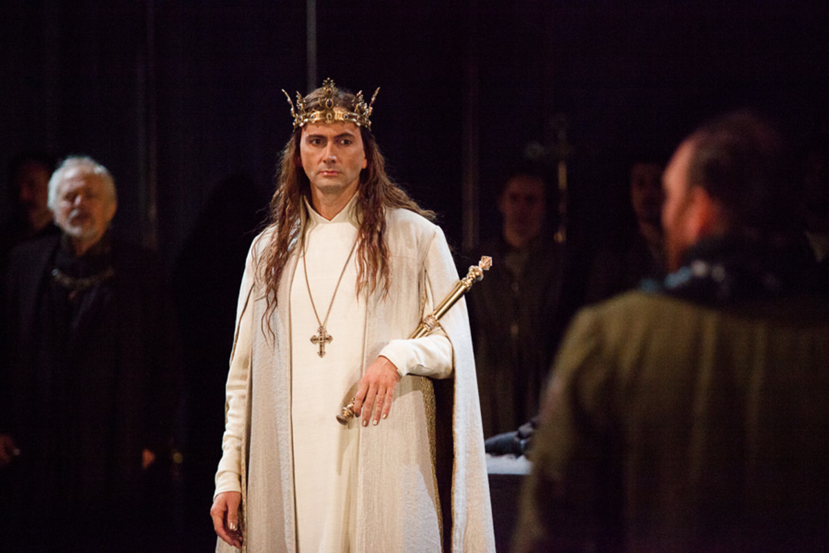 David Tennant in the RSC's Richard II at the Barbican theatre (Photo: Kwame Lestrade)