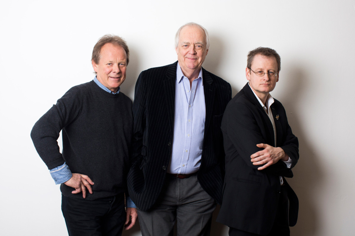 From Here To Eternity's book writer Bill Oakes, lyricist Tim Rice and composer Stuart Brayson