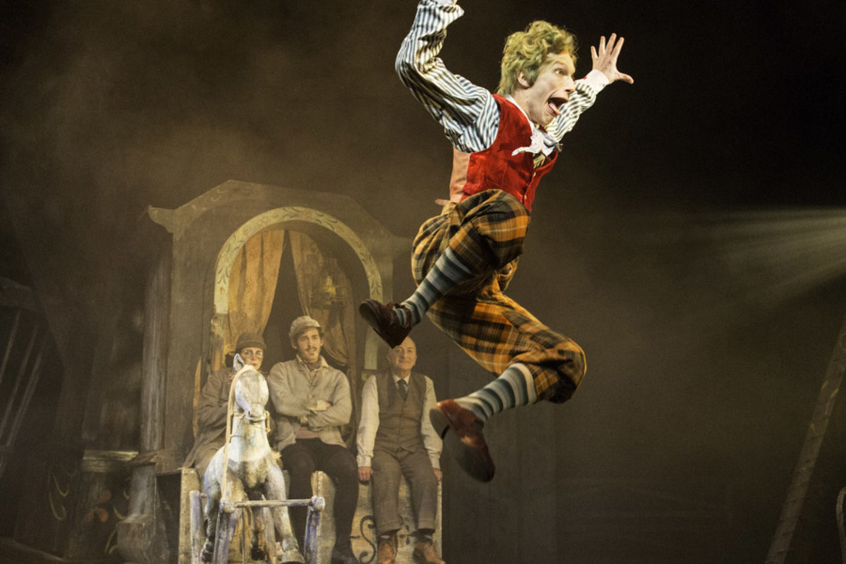 Cris Penfold in The Wind In The Willows (Photo: Johan Persson)
