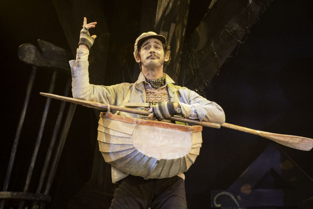 Will Kemp in The Wind In The Willows (Photo: Johan Persson)