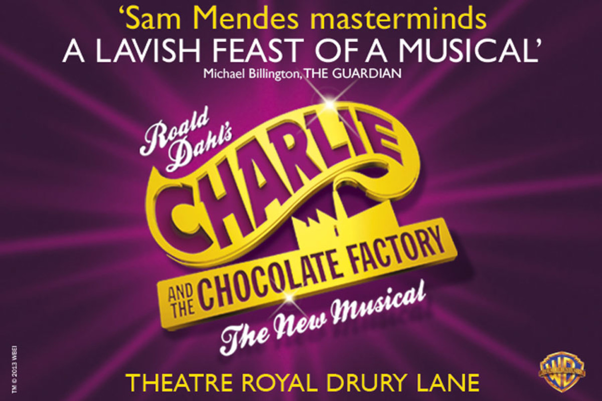 Charlie And The Chocolate Factory, playing at the Theatre Royal Drury Lane