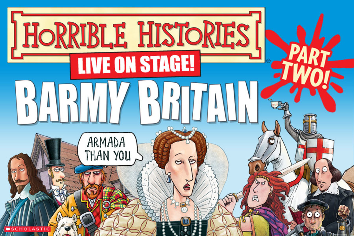 £5 off tickets to see Barmy Britain Part Two! Valid on premium and top price tickets.