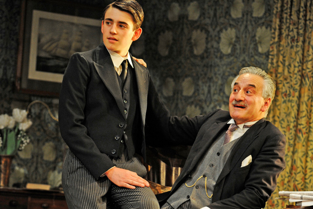Charlie Rowe and Henry Goodman in The Winslow Boy (photo: Nobby Clark)