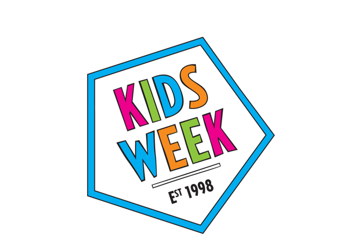 Kids Week logo (carousel)