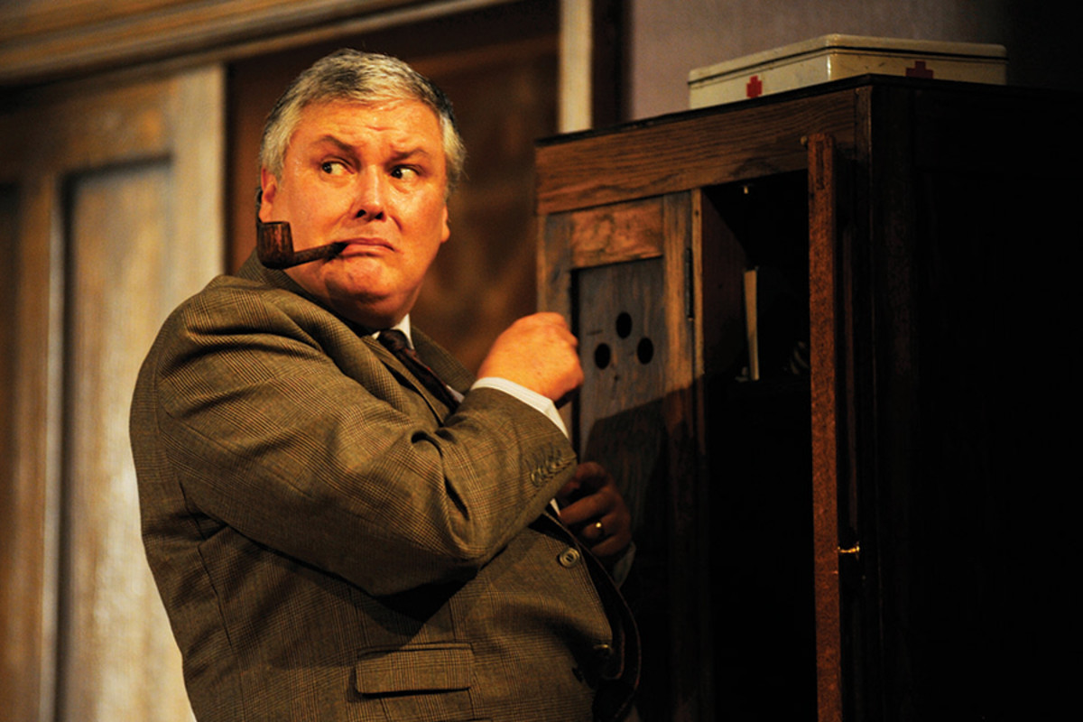 Conleth Hill in Quartermaine's Terms (photo: Nobby Clark)