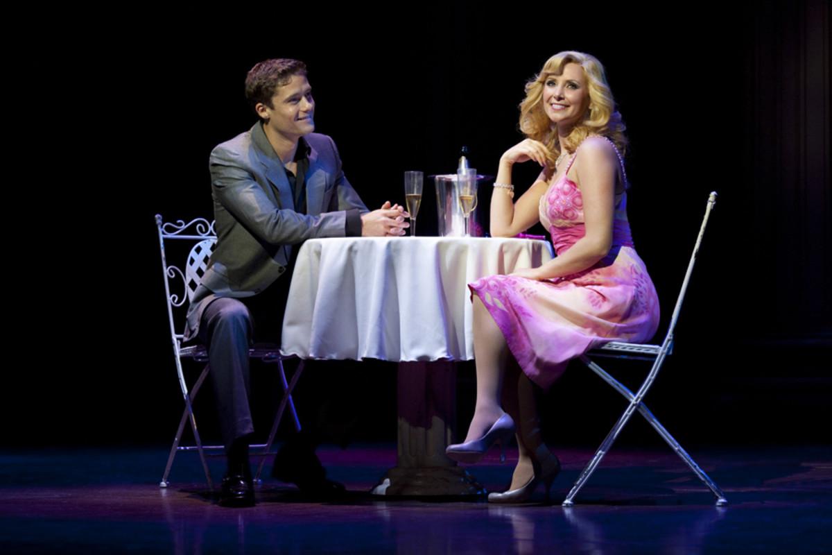 Ben Freeman and Carley Stenson star in Legally Blonde The Musical (photo: Ellie Kurtz)