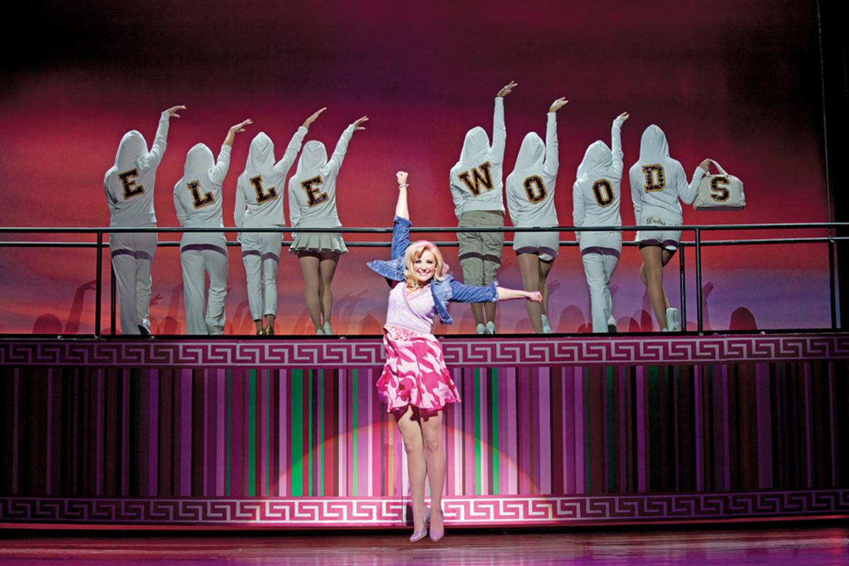 Carley Stenson stars in Legally Blonde The Musical (photo: Ellie Kurtz)