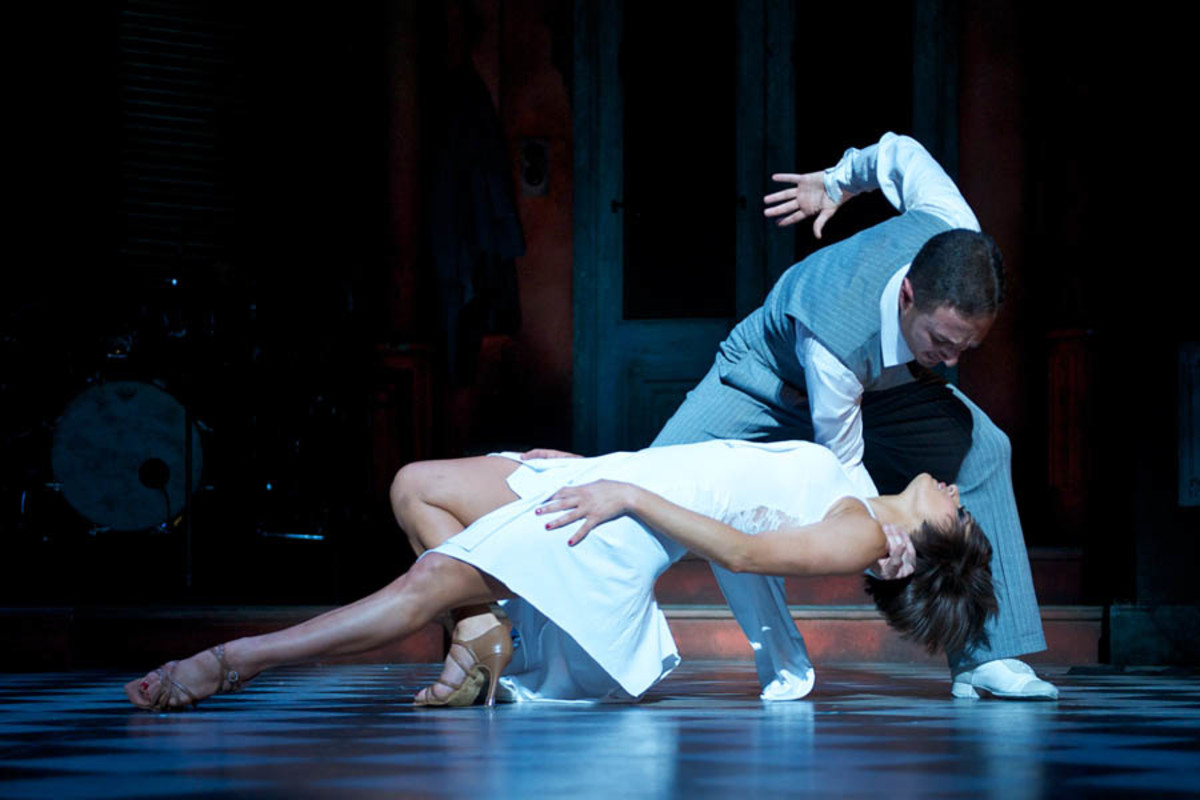 Vincent Simone and Flavia Cacace in Midnight Tango (photo: Manuel Harlan)