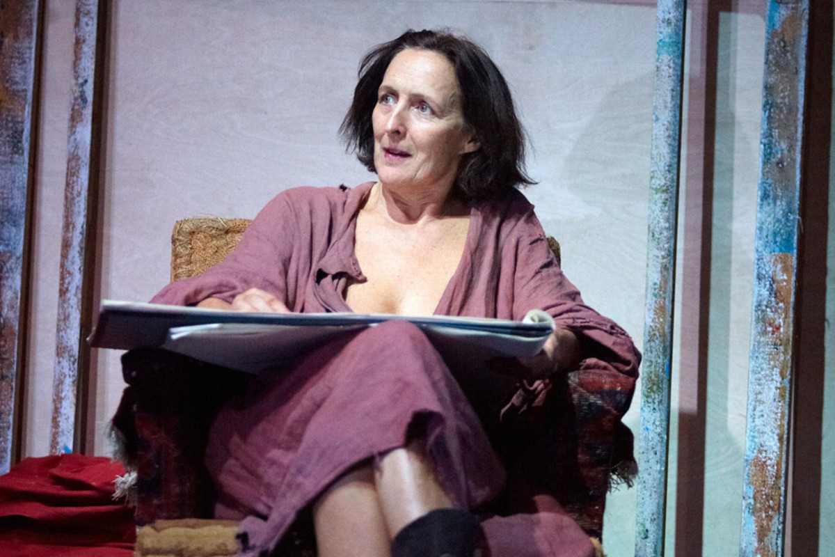 Fiona Shaw in Scenes From An Execution (photo: Mark Douet)