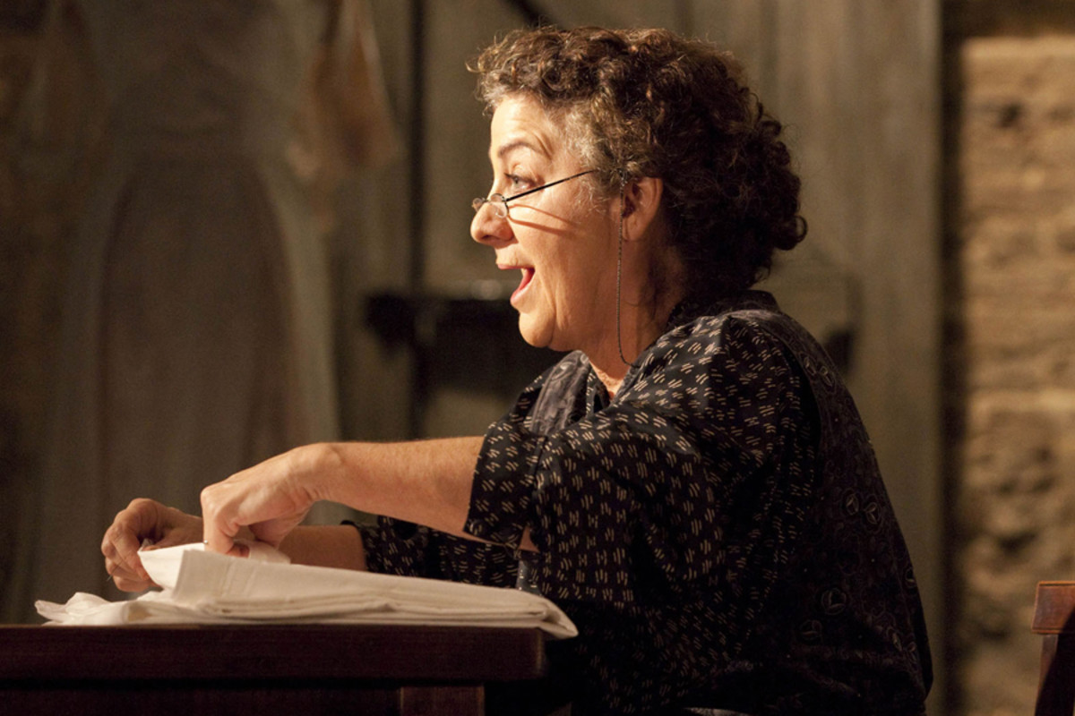 Jane Bertish stars in The House Of Bernarda Alba, playing at the Almeida theatre (photo: Johan Persson)