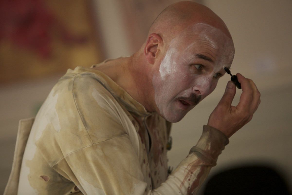 Tim Crouch in I, Malvolio