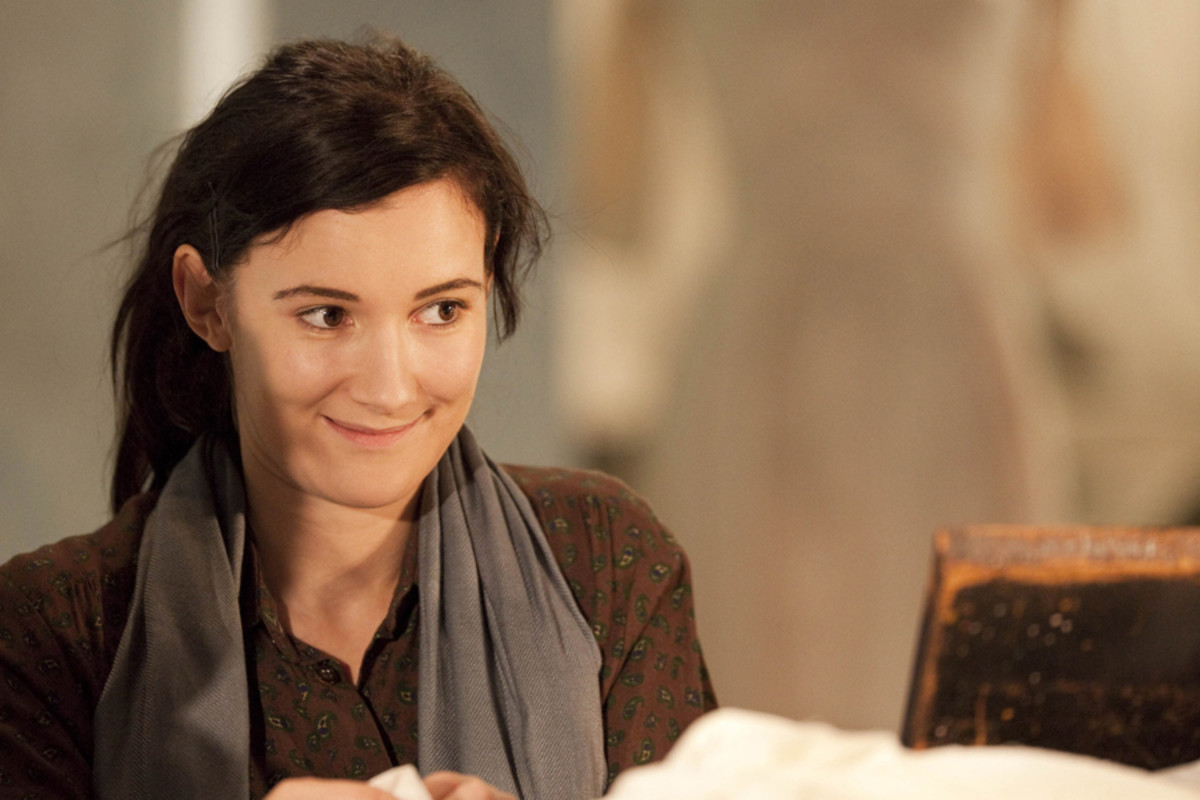Sarah Solemani stars in The House Of Bernarda Alba, playing at the Almeida theatre (photo: Johan Persson)