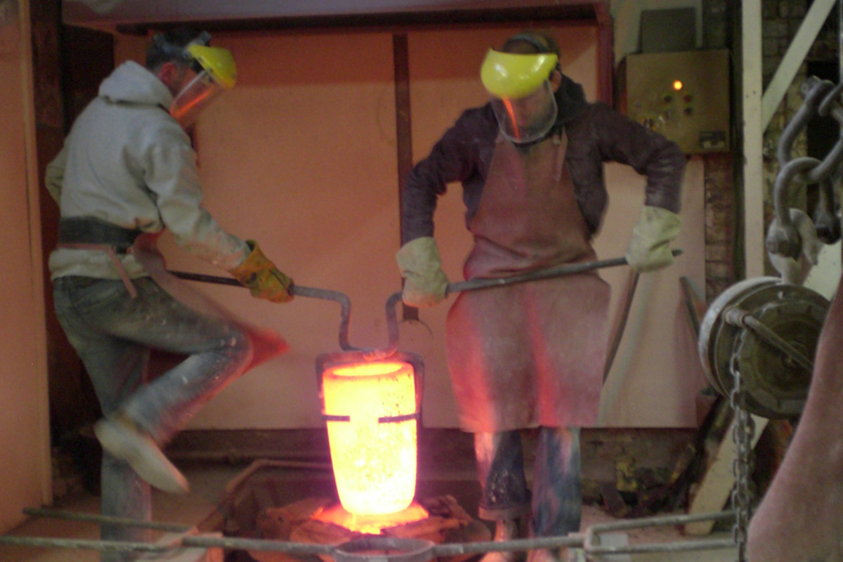 Foundry 1: Molten bronze