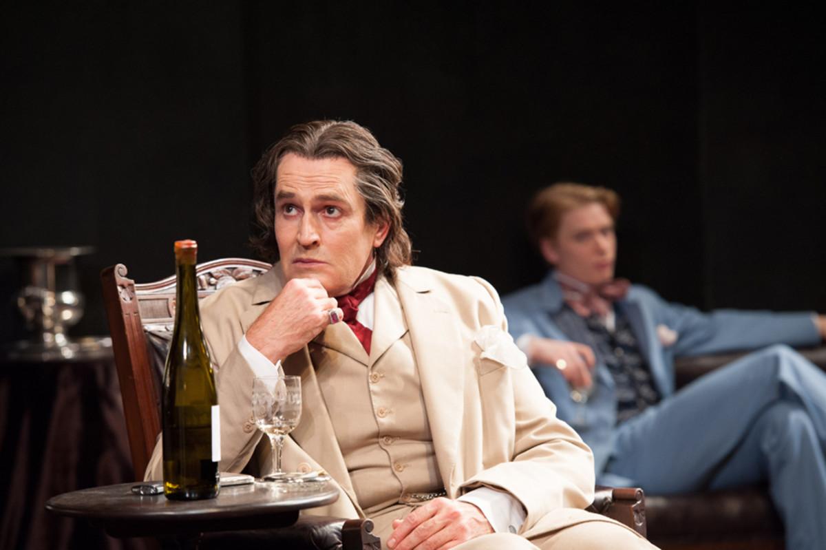 Rupert Everett stars in The Judas Kiss at Hampstead theatre (photo: Manuel harlan)