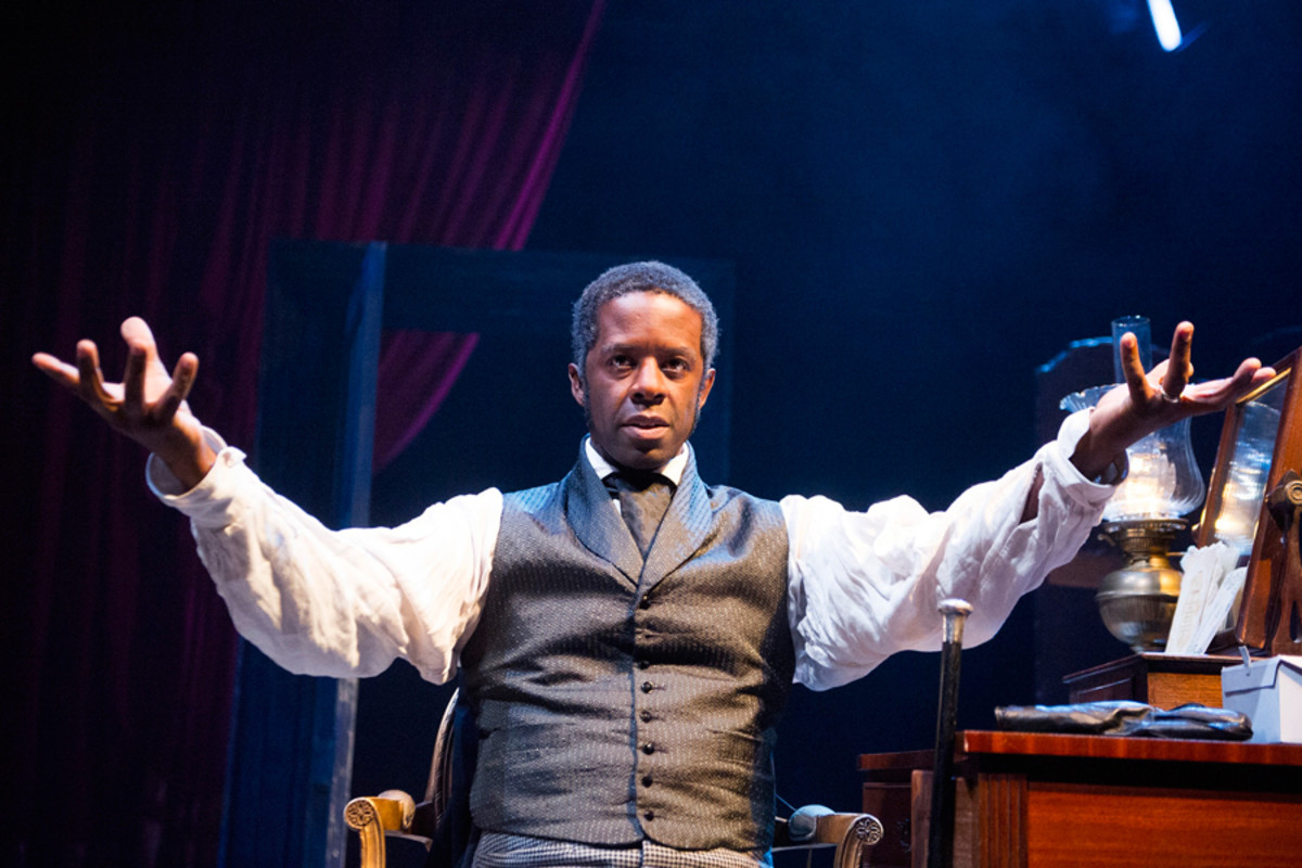 Adrian Lester in Red Velvet at the Tricycle theatre (photo: Tristram Kenton)
