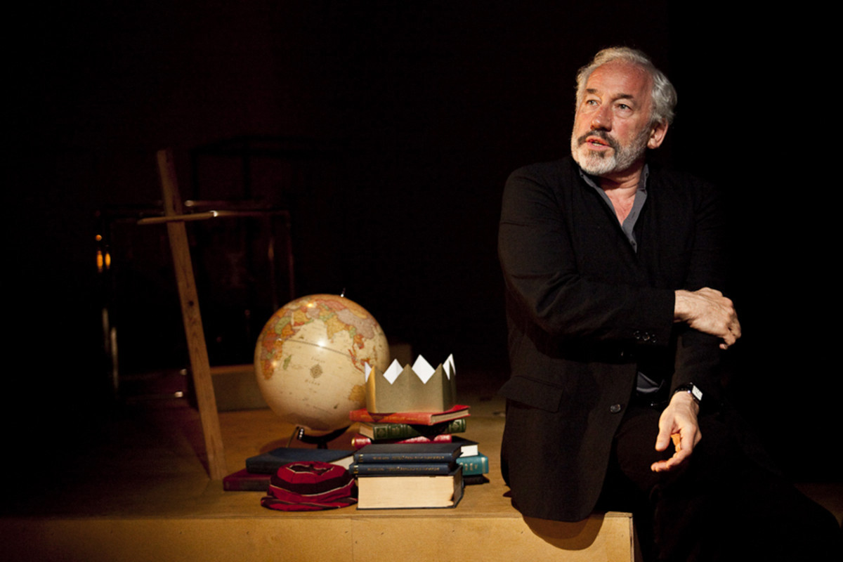 Simon Callow stars in Being Shakespeare