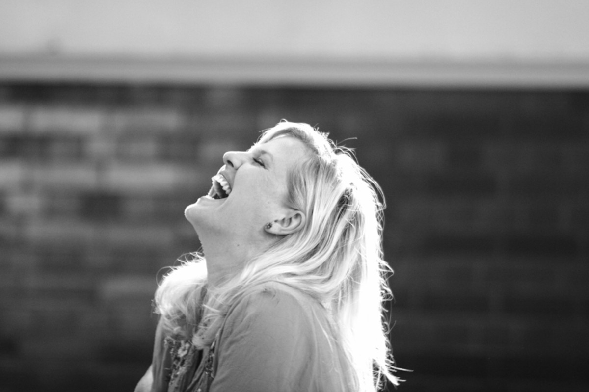 Ashley Jensen rehearses A Chorus Of Disapproval (photo: Catherine Ashmore)
