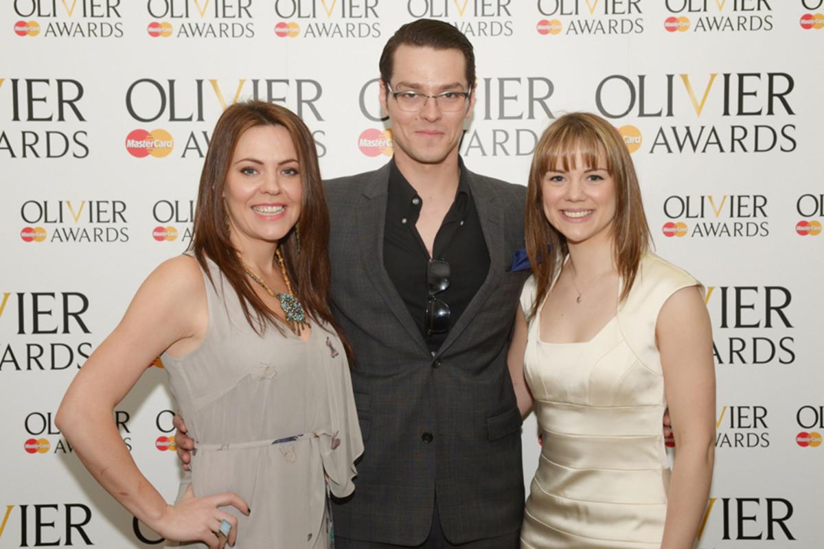 Wicked's Rachel Tucker, Matt Willis and Gina Beck