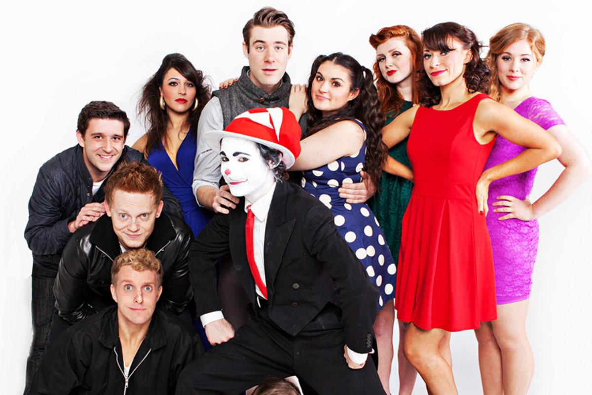 Seussical Company (photo: Darren Bell)